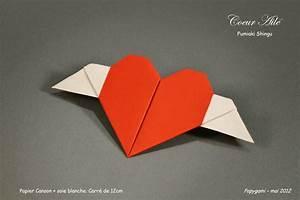 Pliage En Papier : coeur en papier pliage ~ Melissatoandfro.com Idées de Décoration