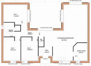 Plan De Maison Plain Pied En U   Infos Et Ressources
