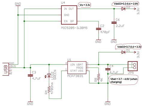 battery charging  power failover supply  usb li