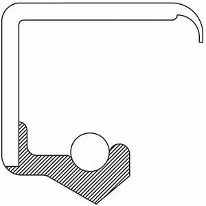 New Manual Trans Drive Shaft Seal