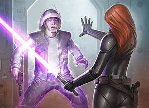 Mara Jade - Star Wars: The Card Game - Art by Matt ...
