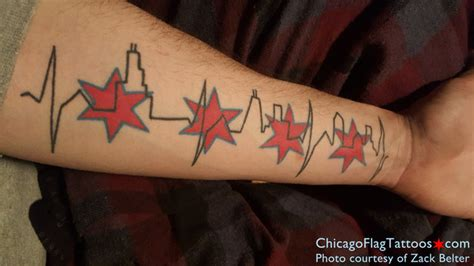 chicago flag tattoos interviews archives