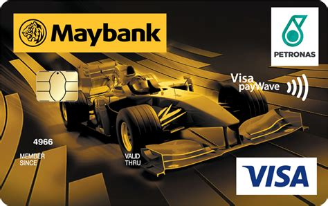 $300 annual travel credit as reimbursement for travel purchases charged to your card each account anniversary year. PETRONAS Maybank Visa by Maybank