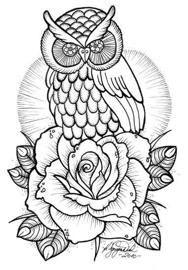 (7) Catia Amelia | Owl coloring pages, Colouring