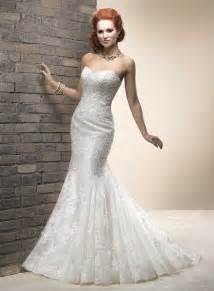 mermaid lace wedding dresses modern mermaid sweetheart sheath lace wedding dress wd 3043