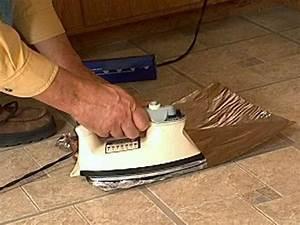 How to Fix Curling Vinyl Floor Tile how-tos DIY