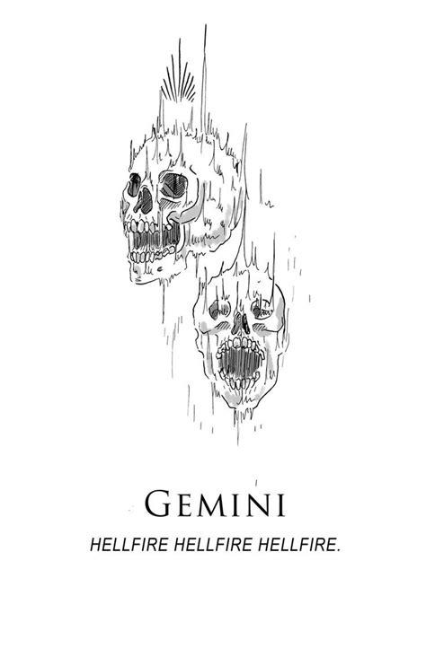 Amrit Brar's Portfolio - Book II: Anger gemini tattoo, gemini constellation, gemini tattoo for