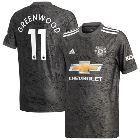 Manchester United Away Shirt 2020-21 - Kids with Greenwood ...