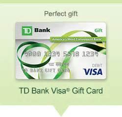 Td Bank Gift Card Balance