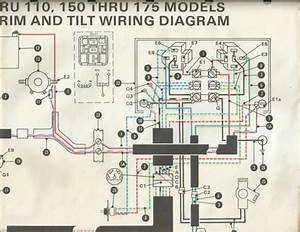 Omc Outboard Marine Corp Boat 60 Thru 225 Power Trim And Tilt Wiring Diagram