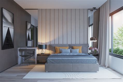 Gray Bedroom by 42 Gorgeous Grey Bedrooms