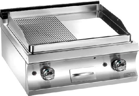 baron cuisine professionnelle plancha grill gaz professionnel top plancha