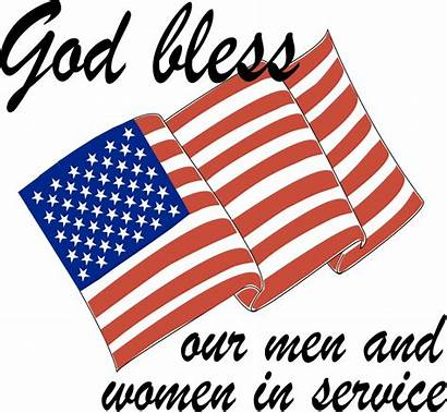 Clip Memorial Clipart Microsoft God Bless Veterans