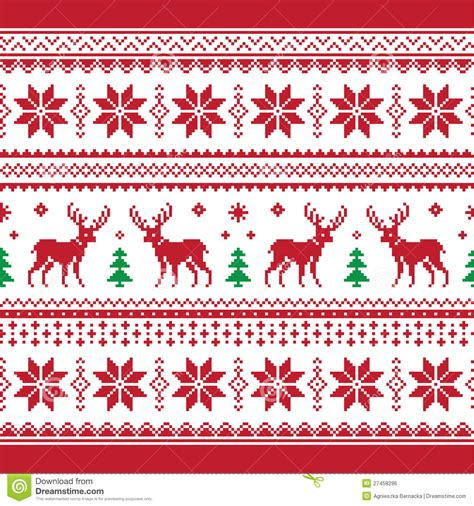 Christmas sweater christmas sweater patterns sweater patterns christmas patterns pattern vector festival pattern vector seamless element elements cute decorative snowflake xmas background christmas ant banner grasshopper pattern ethnic style vector banner the amount of material. Christmas And Winter Knitted Seamless Pattern Or C Stock ...