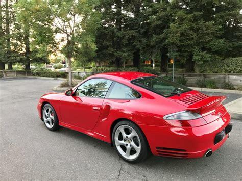 porsche  turbo  guards red