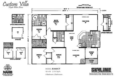 custom villa bct skyline homes