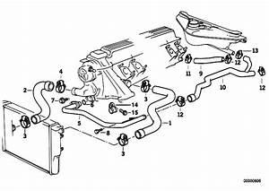 Original Parts For E34 525tds M51 Sedan    Engine   Cooling