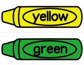 Green Crayon Clip Art