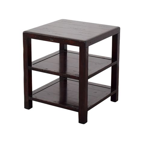 90% Off  Pottery Barn Pottery Barn Square Side Table  Tables. Contemporary Desk Lights. Desk Converts To Bed. Benchtop Router Table. 36 Inch Full Extension Drawer Slides. Rectangle Dining Table Set. Pool Table Pictures. Vintage Mahogany Desk. Pub Tables