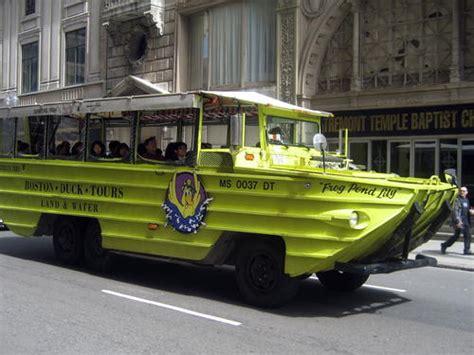 Boston Boat Tours by Boston Duck Tours Reviews Boston Massachusetts