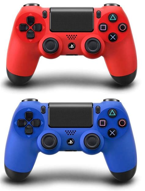 ps4 controllers colors ps4 dualshock 4 controller colors magma and wave blue