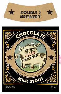 design your own chocolate milk stout label maker grogtag With beer label maker