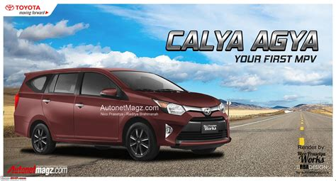 Toyota Calya Picture by Toyota Calya New Low Cost Mpv Spied In Indonesia Team Bhp