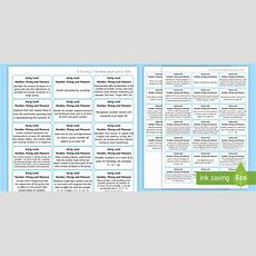 *new* Cfe Early Level Number, Money And Measure Benchmark Assessment Stickers
