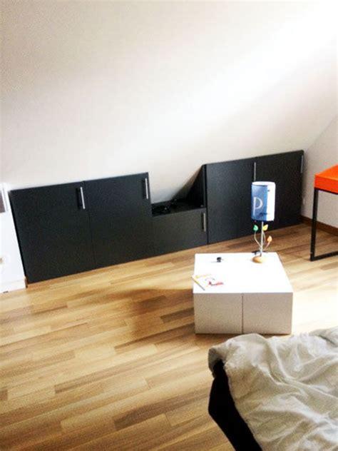 d馗o chambre sous pente nos meubles sous pente sur mesure dessinetonmeuble belgique