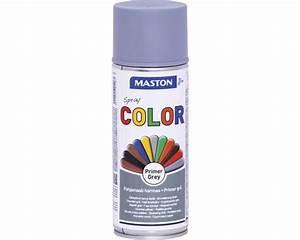 Rostumwandler Grundierung Spray : grundierung spray color maston grau 400 ml bei hornbach kaufen ~ Kayakingforconservation.com Haus und Dekorationen