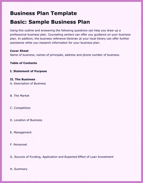 Free Business Template by Free Business Template Word Pdf