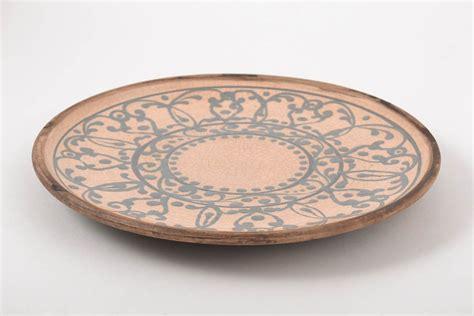 keramik geschirr handgemacht madeheart gt teller keramik handgemacht keramik geschirr bunt geschenk f 252 r frauen ornament