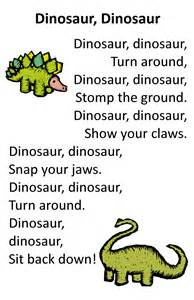 Dinosaur Poems for Preschoolers
