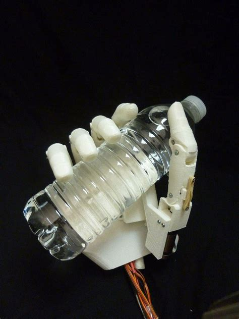 printed tact prosthetic hand takes functionality