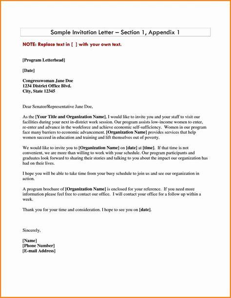 formal letter  invitation penn working