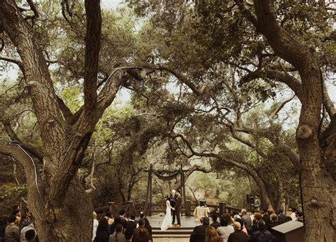 oak tree wedding orange county california wedding