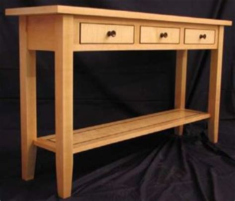sofa table plans woodwork city  woodworking plans