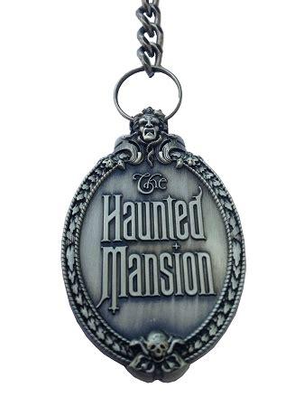 disney keychain haunted mansion portrait logo