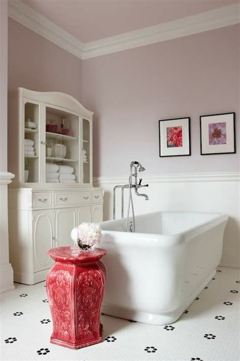 glass front linen cabinet contemporary bathroom