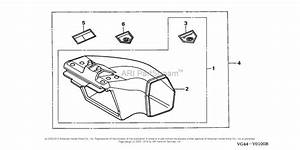 Honda Hrr216 S3da Lawn Mower  Usa  Vin  Mzcg