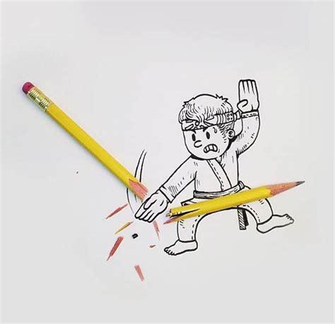 funny  creative interactive illustration  alex solis