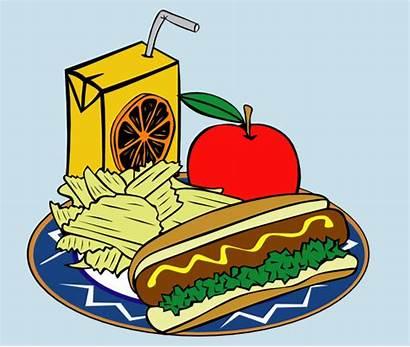 Clipart Lunch Healthy Menu