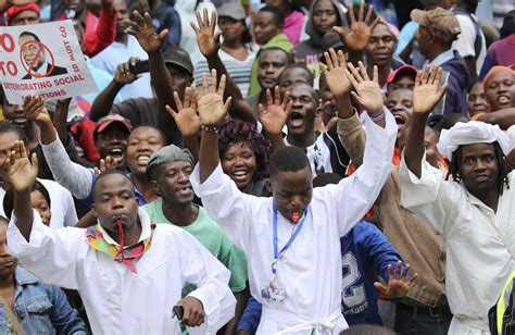 feared dead  protests hit zim zimbabwe situation