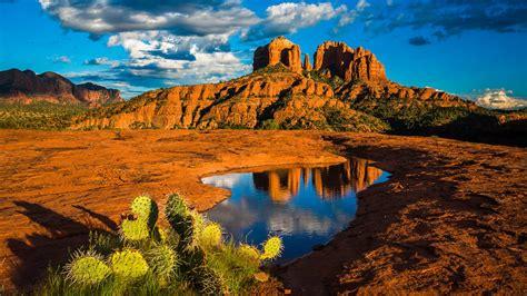 Kia Grand Sedona 4k Wallpapers by Landscape Nature Cathedral Rock In Sedona Arizona United