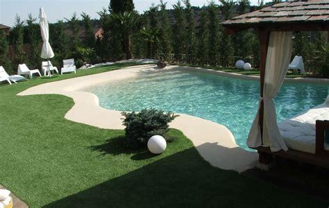 piscinas de arena construir en invierno  disfrutar en