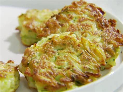 zucchini cakes recipe sandra lee food network