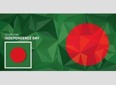 Bangladesh flag design for independence day Free vector in
