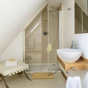 petite salle de bain sous pente 12 une salle de bain With salle de bain en sous pente