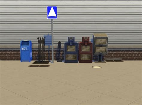 mod  sims liberated street deco
