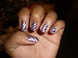Amazing purple nail designs design ideaz
